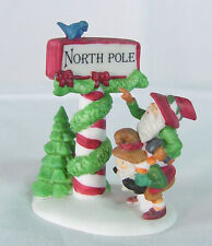 TRIMMING The NORTH POLE Heritage Dickens Village 5608-1~ DEPARTMENT 56~NIB