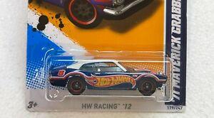 HOT WHEELS 2012 SUPER TREASURE HUNT 71 MAVERICK GRABBER #9/10 W/RUBBER TIRES