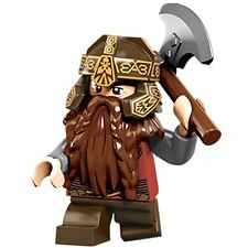 LEGO The Lord of The Rings 79006 Council of Elrond Gimli Minifigure w/ Axe NEW