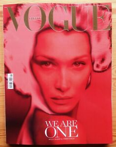 VOGUE GREECE #11-A APRIL 2020 GREEK BELLA HADID BY CHRIS COLLS very rare deleted