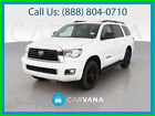 2018 Toyota Sequoia TRD Sport SUV 4D Keyless Entry Power Windows Traction Control Knee Air Bags Leather Air