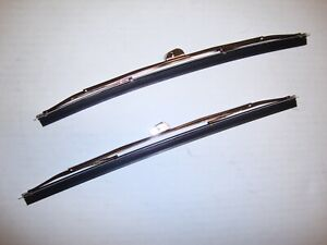 1955-1959 Chevrolet GMC 1953-1960 Ford Truck Windshield Wiper Blades Stainless