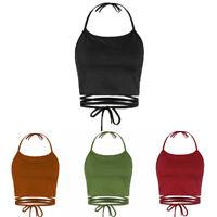 Fashion Summer Women Casual Tank Tops Vest Blouse Sleeveless Crop Tops Shirt