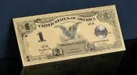 <GOLD DOLLAR>1899 Series$1 SILVER CERTIFICATE Black EAGLE Banknote Rep*US SELLER
