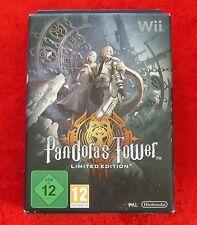 Pandora´s Tower Limited Edition, Nintendo Wii Spiel, Neu, deutsche Version