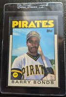 1986 TOPPS TRADED #11T BARRY BONDS ROOKIE CARD XRC PITTSBURGH PIRATES