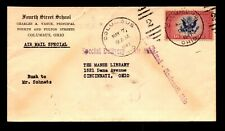 1941 CE2 Airmail Special Delivery Cover / Cnr Card - L9982