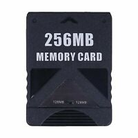 256MB Megabyte Memory Card Data For Sony PlayStation 2 PS2 Slim Game Console
