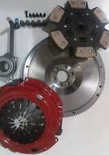 FLYWHEEL AND 6 PADDLE SPORTS CLUTCH WITH CSC AND BOLTS FOR AUDI A3 1.8T T S3