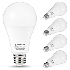 LOHAS 150W-200Watt Equivalent LED Light Bulbs, A21 LED 23W Bulbs, Soft White LED