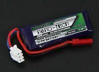 NANO-TECH 300mAh 2S 7.4v 45-90C LIPO BATTERY 1/24 Losi Micro Truggy SCT Rally