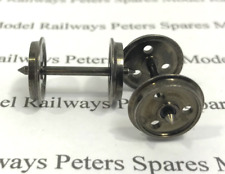 Peters Spares PS82 12.6mm 3 Hole Disc Wagon & Coach Wheels 1 Whl Live To Axle Pr