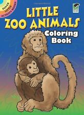 Little Zoo Animals Coloring Book (Dover Little Activity Books) by Roberta Collie
