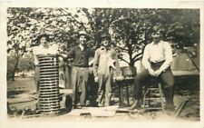 C-1910 Occupation Workers Coil Equipment RPPC real photo postcard 533