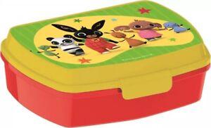 Bing Coniglio LUNCH BOX scatola colazione porta PRANZO MERENDA sandwich scuola
