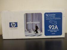 HP C4092A 92A Black Toner Cartridge LaserJet 3200 Genuine New Seal Box Lot Of 3