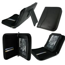 rooCASE for NOOK Touch - Executive Leather Folio Case Black Lot C3