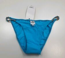 748826f95d Sauvage Swimwear Solid Lotus Chain Full Bottom Swim Bottom Bikini Size S