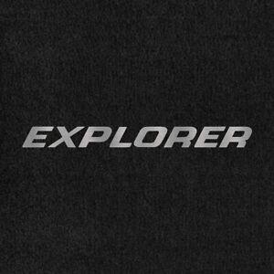 Lloyd Mats Velourtex Ebony Front Floor Mats For Ford Explorer 1991-2000