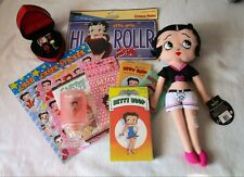 Betty Boop Lot Doll Stickers Watch bracelet set license plate coffee mug and mor