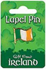 Irish Flag Metal Pin Badge (sg 0318d)