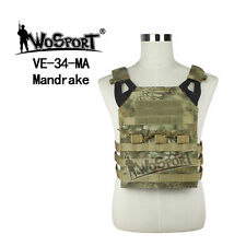 Tactical Military Combat Camo Molle Carrier JPC Vest Airsoft Hunting Paintball