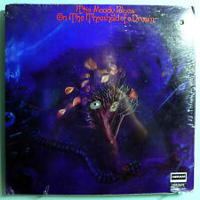 MOODY BLUES~ON THE THRESHOLD OF A DREAM~SEALED ORIG '69 DERAM PROMO LP w/BOOKLET