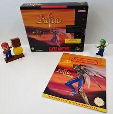 Super Nintendo SNES Spiel - Lufia Spieleberater Sonderheft + OVP Big Box - CIB