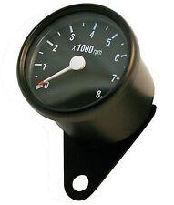 Drehzahlmesser schwarz Yamaha XS 400 650 SR 125 250 500 XJR 1200 Mini Tacho DZM