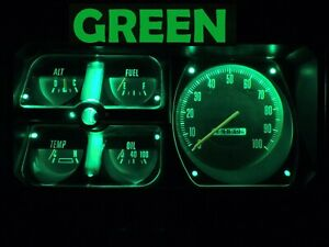 Gauge Cluster LED Dashboard Bulb Green For Dodge 72 80 D150 - D350 Truck