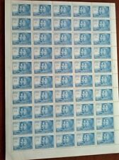 CHILE, NICE SCOTT 367 FULL 50 STAMPS SHEET
