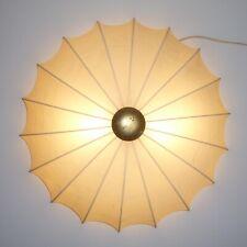 Cocoon Wand Decken Lampe s.a. Castiglioni Nelson Flos Mid Century 50er/60er