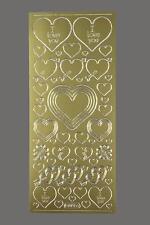 Aufkleber Herzen Liebe Sticker Starform 801