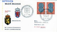 Belgien 1673 FDC, Belgien-Luxemburg Wirtschaftsgemeinschaft-CEPT
