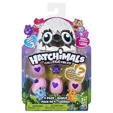 Hatchimals SERIES 2 Colleggtibles Random 4 pack + Bonus Character