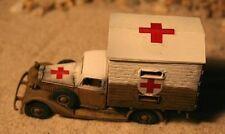 MGM 080-152 1/72 Resin German Auto Union Horch 830 BL Ambulance