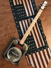 "4 String Cigar Box Guitar ""Voo Doo Blues"""