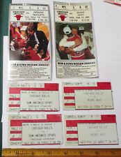 1992 1994 Chicago Bulls Basketball Team ticket stubs Stadium LOT