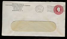 US Organization Stationary Advertising Cover (Hempstead Water District) 1942