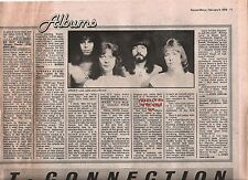 The SWEET Level Headed  album review 1978 UK ARTICLE / clipping