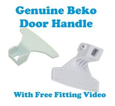 Véritable BEKO MACHINE À LAVER WM74135W BLANC Poignée de porte