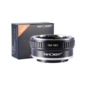 K&F Concept Mount Converter Olympus OM Mount - Sony E Mount Camera  #KF06.072 UK