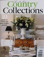 Australian Country Collections Magazine No 73 Vol 13 No 4 Decorating With Purple