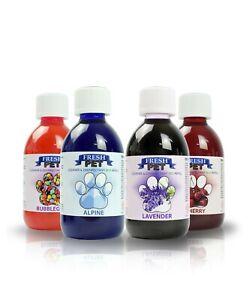 Pet Dog Cleaner 4 x 250ml Eco-Refill (Makes 4x5L) Mix & Match Fresh Pet