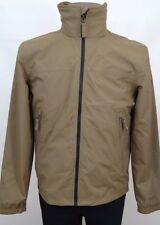 TIMBERLAND Lt Brown WATERPROOF Bomber HOODED Harrington Jacket Size S BNWT