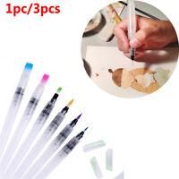 Decorating Pilot de tinta Pluma de agua recargable Pintura Pincel de acuarela