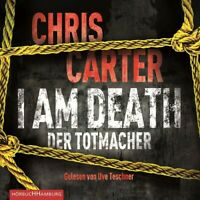 UVE TESCHNER - CHRIS CARTER: I AM DEATH.DER TOTMACHER  6 CD NEW