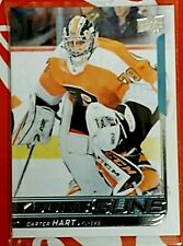 2018-19 Upper Deck Young Guns Carter Hart #491 Rookie