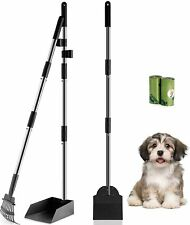 New ListingHeavy Duty Metal Pooper Scooper Set Long Handle Rake for Small Medium Large Dogs