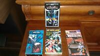 RARE VHS tape set of 4 -Japanese cartoons, English language. Condition are used.